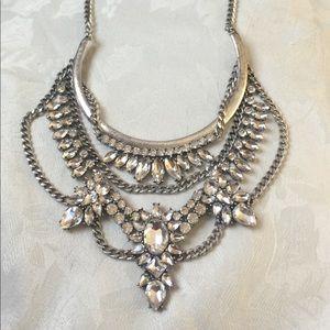 Baublebar Grendel Crystal Bib Necklace